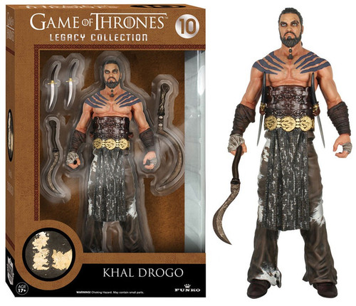 Funko Game of Thrones Legacy Collection Series 2 Khal Drogo Action Figure #10