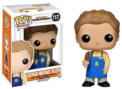 Arrested Development Funko POP! Television George Michael Bluth Vinyl Figure #117 [Banana Shop]