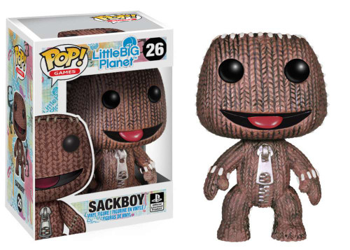 Little Big Planet Funko POP! Games Sackboy Vinyl Figure #26