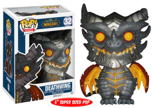 World of Warcraft Funko POP! Games Deathwing Vinyl Figure #32 [Super-Sized]