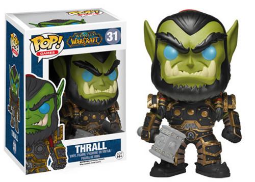 World of Warcraft Funko POP! Games Thrall Vinyl Figure #31