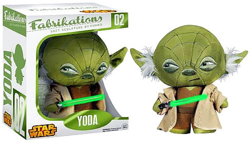 Star Wars Funko Fabrikations Yoda Plush #02
