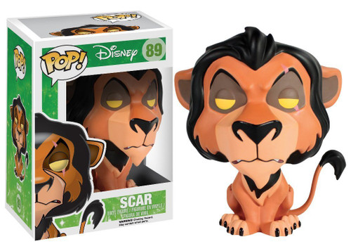 The Lion King Funko POP! Disney Scar Vinyl Figure #89