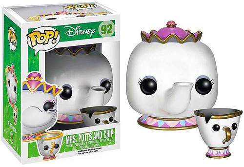 Beauty and the Beast Funko POP! Disney Mrs. Potts & Chip Vinyl Figure 2-Pack #92