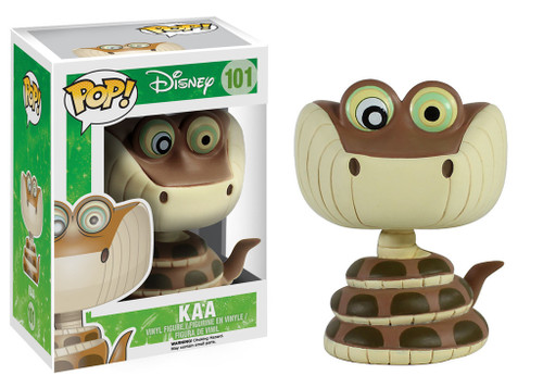 The Jungle Book Funko POP! Disney Kaa Vinyl Figure #101