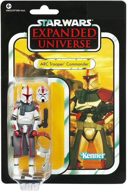 Star Wars Expanded Universe Vintage Collection 2011 ARC Trooper Commander Action Figure #54