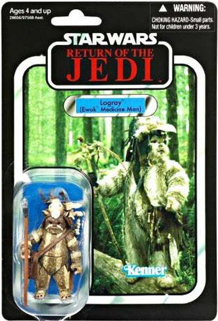 Star Wars Return of the Jedi Vintage Collection 2011 Logray Action Figure #55 [Ewok Medicine Man]