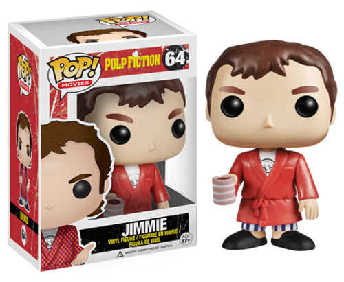 Pulp Fiction Funko POP! Movies Jimmie Vinyl Figure #64