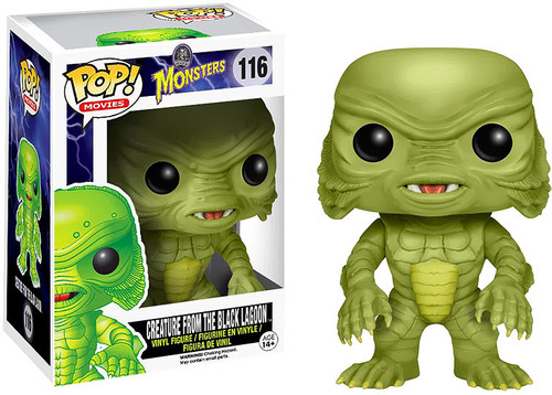 Universal Monsters Funko POP! Movies Creature From the Black Lagoon Vinyl Figure #116