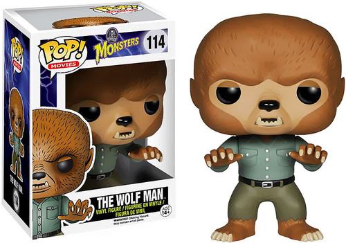 Universal Monsters Funko POP! Movies Wolfman Vinyl Figure #114