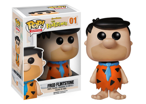 Hanna-Barbera The Flintstones Funko POP! Movies Fred Flintstone Vinyl Figure #01