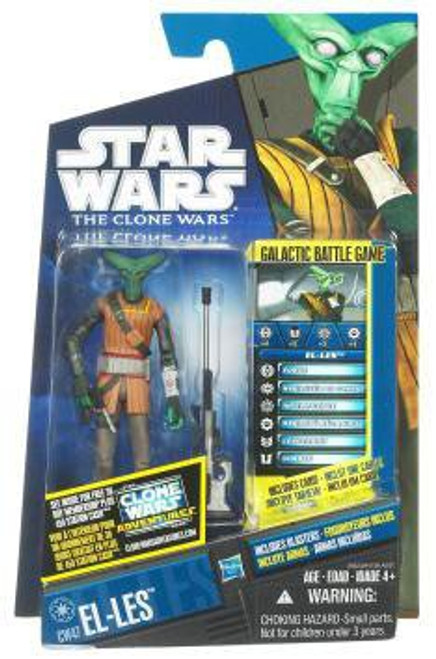 Star Wars The Clone Wars Clone Wars 2011 El-Les Action Figure CW47