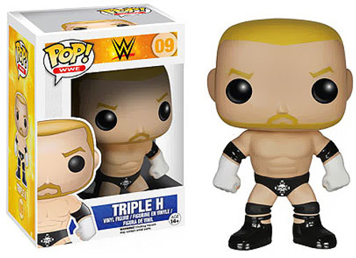 WWE Wrestling Funko POP! Sports Triple H Vinyl Figure #09