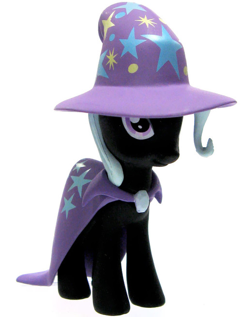 Funko My Little Pony Mystery Minis Series 2 The Great and Powerful Trixie Lulamoon 2.5-Inch Mini Figure [Black Paint Loose]