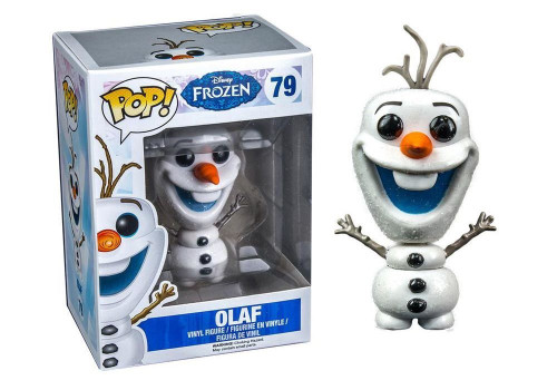 Disney Frozen Funko POP! Movies Olaf Exclusive Vinyl Figure #79 [Glitter]