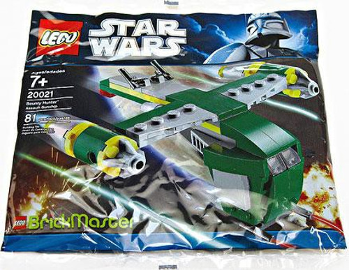 LEGO Star Wars BrickMaster Bounty Hunter Assault Gunship Exclusive Mini Set #20021 [Bagged]