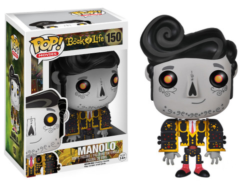 The Book of Life Funko POP! Movies Manolo Remembered Vinyl Figure #150