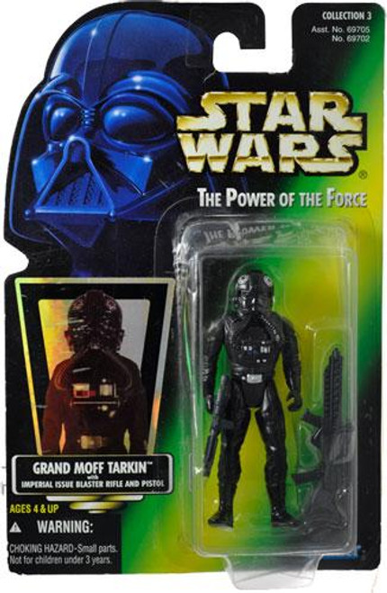 Star Wars A New Hope Power of the Force POTF2 Collection 3 TIE Fighter Pilot Action Figure [Hologram Card]