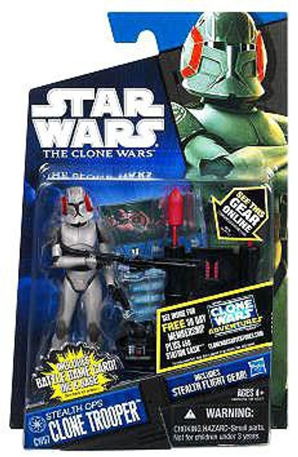 Star Wars The Clone Wars Clone Wars 2011 Stealth Ops Clone Trooper Action Figure CW57