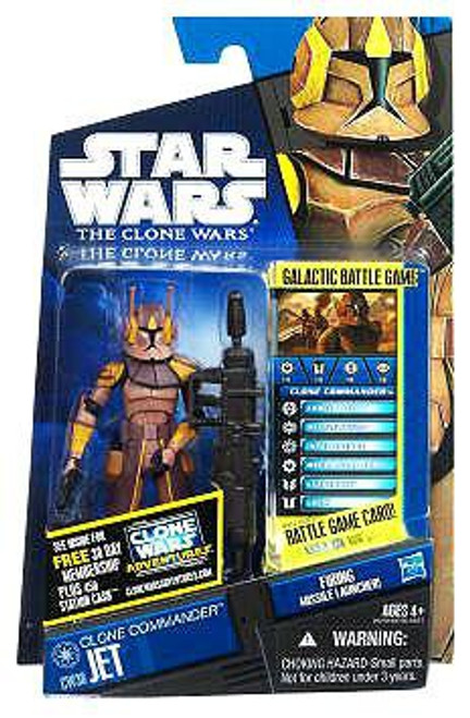 Star Wars The Clone Wars Clone Wars 2011 Clone Commander Jet Action Figure CW38