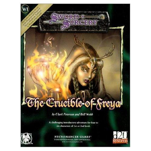 d20 Sword & Sorcery The Crucible of Freya Roleplaying Book
