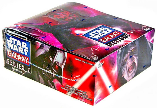 Star Wars Galaxy Series 7 Hobby Edition Trading Card Box