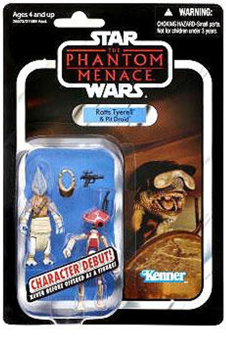 Star Wars The Phantom Menace Vintage Collection 2012 Ratts Tyerell & Pit Droid Action Figure 2-Pack #77