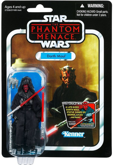 Star Wars The Phantom Menace Vintage Collection 2012 Darth Maul Action Figure #86 [Final Battle]