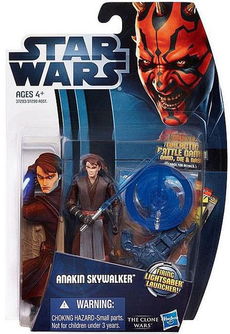 Star Wars The Clone Wars Clone Wars 2012 Anakin Skywalker Action Figure CW01