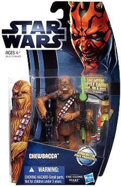 Star Wars The Clone Wars Clone Wars 2012 Chewbacca Action Figure CW09