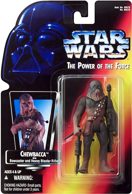 Star Wars A New Hope Power of the Force POTF2 Chewbacca Action Figure