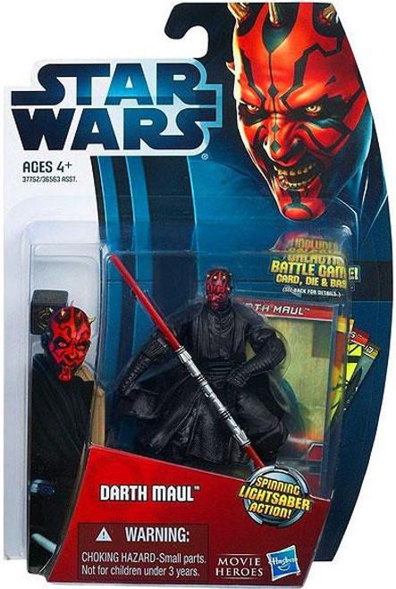Star Wars The Phantom Menace Movie Heroes 2012 Darth Maul Action Figure #5 [Version 1]