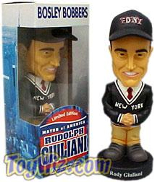 Bosley Bobbers Rudy Giuliani Bobble Head [Damaged Package, Mint Contents]