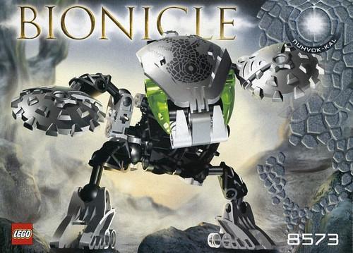 LEGO Bionicle Bohrok Kal Nuhvok Kal Set #8573