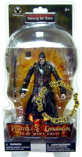 Disney Pirates of the Caribbean Dead Man's Chest Bootstrap Bill Turner Exclusive Action Figure