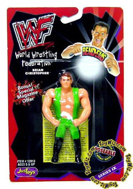 WWE Wrestling WWF Bend-Ems Series 9 Brian Christopher Action Figure