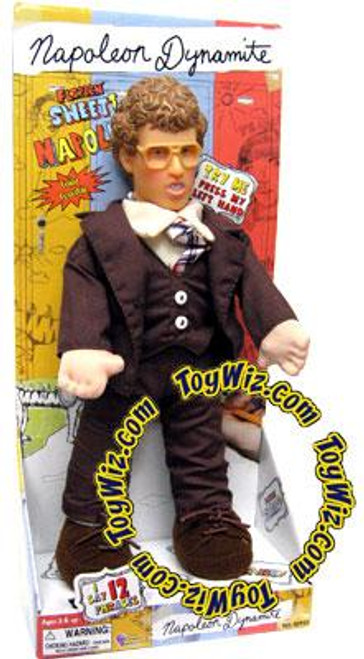Talking Napoleon Dynamite 12-Inch Plush Doll [Brown Tuxedo]