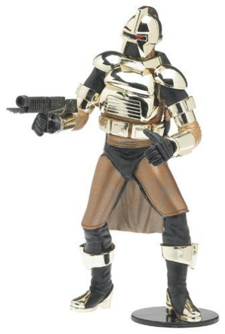 Battlestar Galactica Series 2 Cylon Commander Action Figure [Gold Armor]