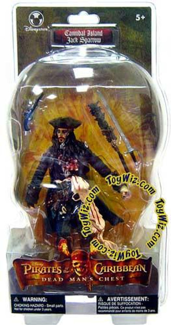 Disney Pirates of the Caribbean Dead Man's Chest Captain Jack Sparrow Exclusive Action Figure [Cannibal Island]