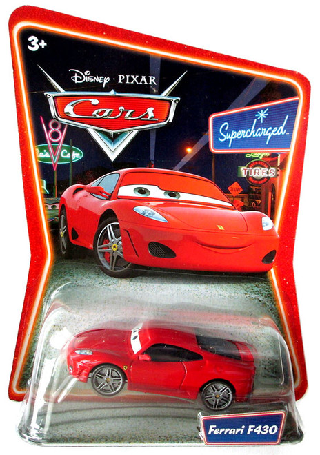 Disney Cars Supercharged Ferrari F430 Diecast Car