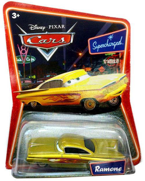 Disney Cars Supercharged Ramone Diecast Car [Gold]