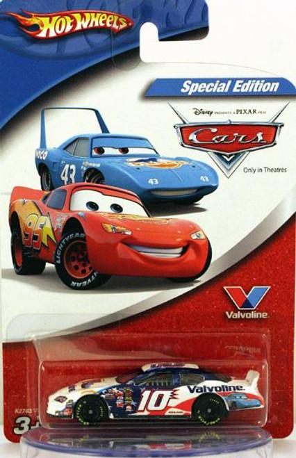 Disney Cars Exclusives Valvoline Scott Riggs No. 10 Exclusive Diecast Car [Special Edition]