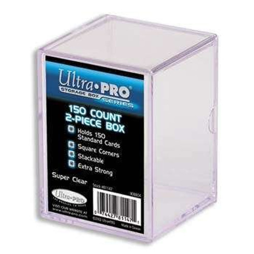 Ultra Pro Card Supplies Clear Deck Box [150 ct]