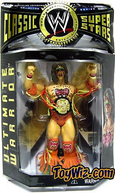 WWE Wrestling Classic Superstars Series 1 Ultimate Warrior Action Figure