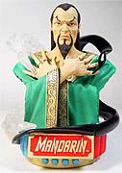 Marvel Diamond Select Rogues' Gallery Mandarin Bust