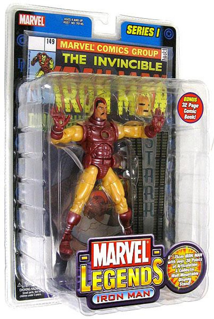 Marvel Legends Series 1 Iron Man Action Figure [Yellow & Red Armor]