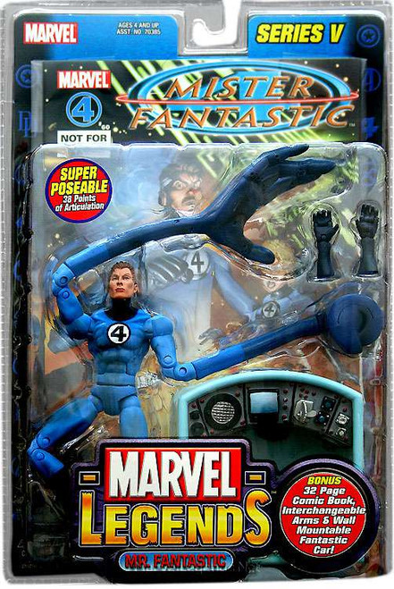 Marvel Legends Series 5 Mr. Fantastic Action Figure