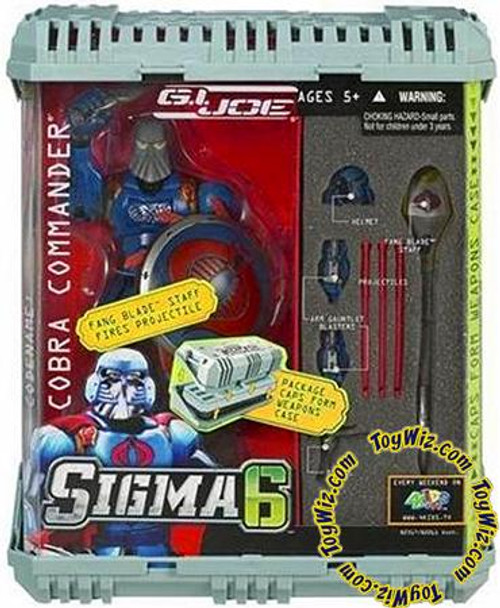 GI Joe Sigma 6 Series 2 Cobra Commander Action Figure