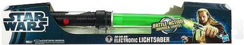 Star Wars Electronic Lightsabers Qui-Gon Jinn Electronic Lightsaber [2012]
