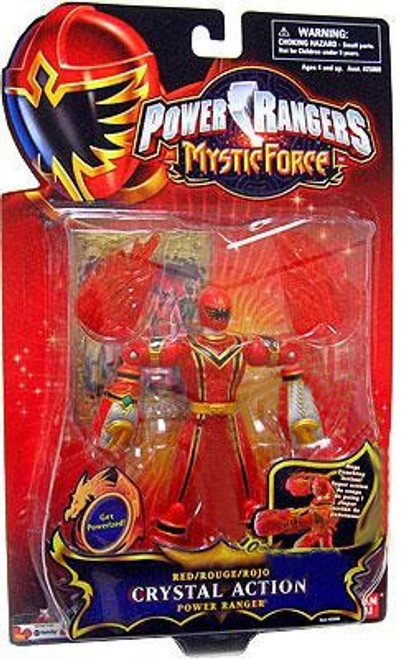 Power Rangers Mystic Force Red Crystal Action Power Ranger Action Figure